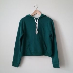 Forever 21 Hoodie Pullover Green Size Med